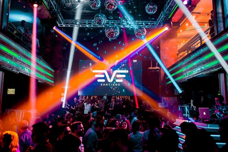 Baladas club Eve em Santiago