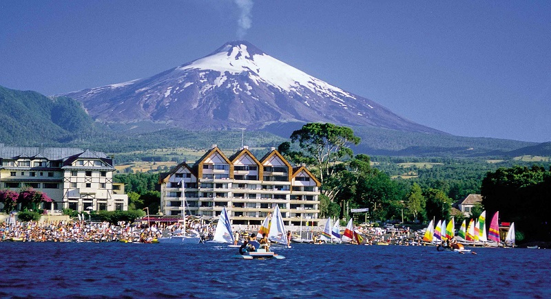 Cidade Pucón no Chile
