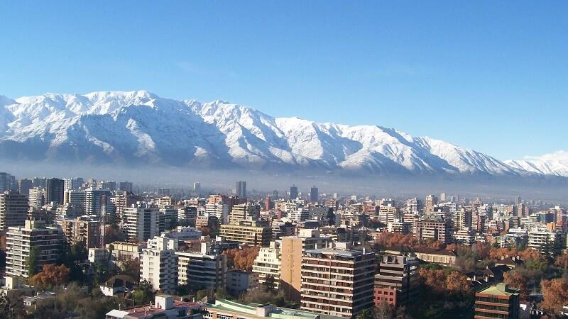 Chile com neve