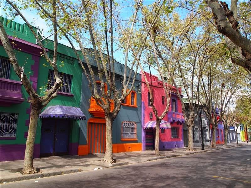 Dia 1 em Santiago do Chile