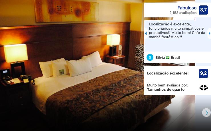 Hotel Panamericano em Santiago