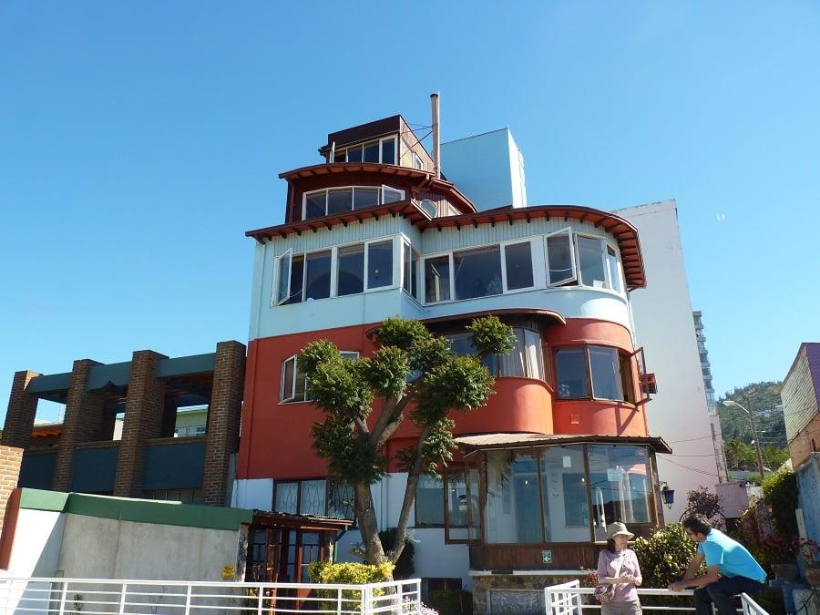 Visita à Casa La Sebastiana em Valparaíso
