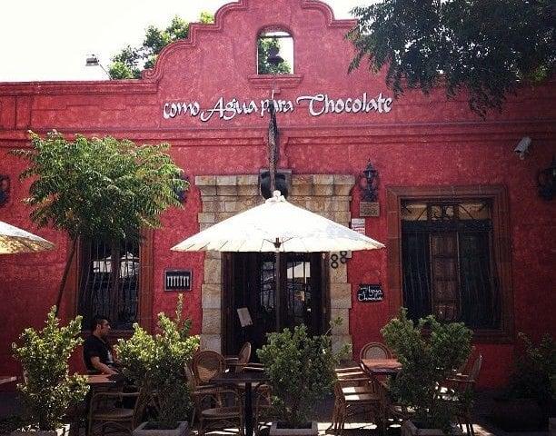 Restaurante Como Água para Chocolate em Santiago do Chile