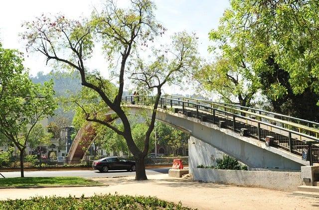 Parque Balmaceda em Santiago do Chile
