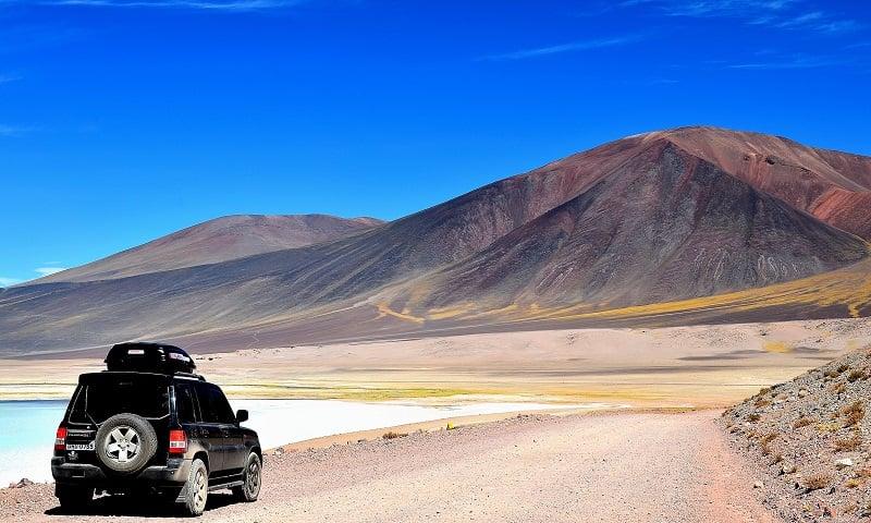 Carro em San Pedro de Atacama
