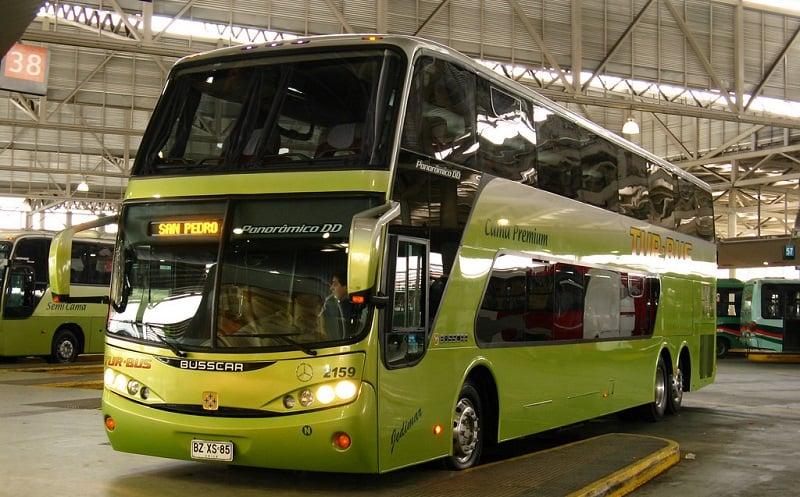 Ônibus do Aeroporto El Loa até o centro de San Pedro de Atacama