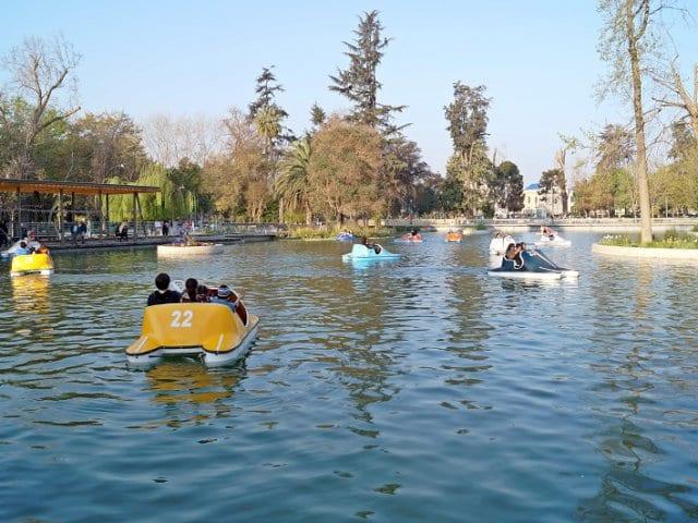 Parque Quinta Normal em Santiago do Chile