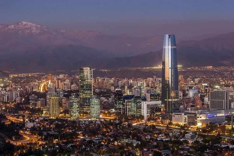 Chile de noite
