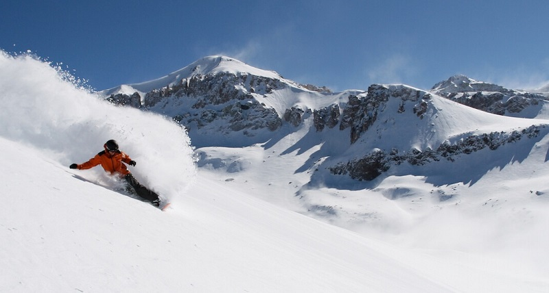 Ski no Valle Nevado