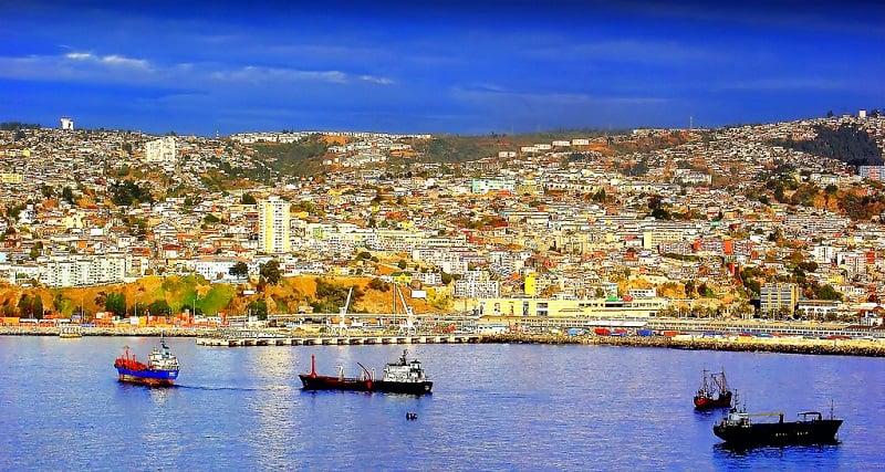 O que ver na excursão para Valparaíso e Viña del Mar