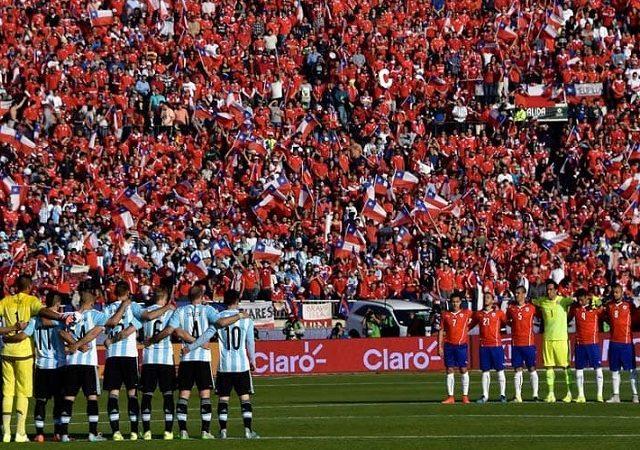 Estádio Nacional em Santiago do Chile