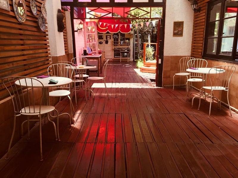 Restaurante vegano Shakti en Chile
