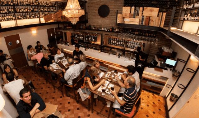 Restaurante Bocanáriz em Santiago do Chile