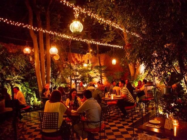 Restaurantes no bairro de Providencia em Santiago do Chile