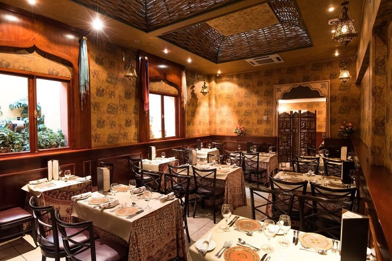 Restaurantes no centro de Santiago do Chile