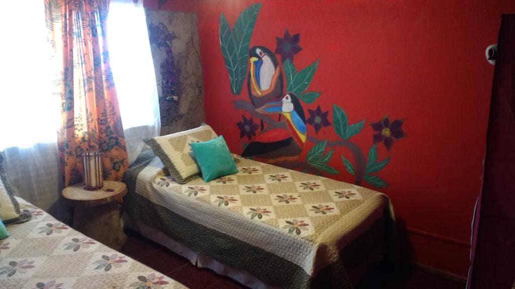 Quarto do Hostal Vieroto na Ilha de Páscoa