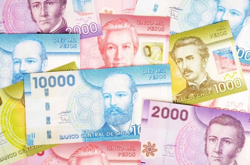 Pesos chilenos - Dinheiro vivo