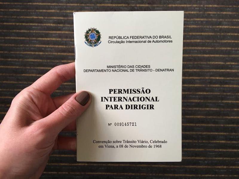 Permissão Internacional para Dirigir - Chile
