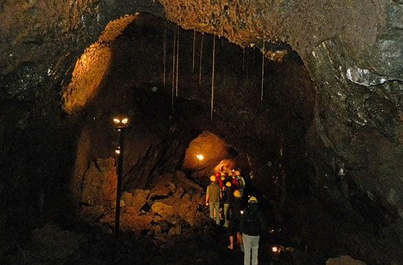 Cuevas Volcánicas em Pucón, Chile