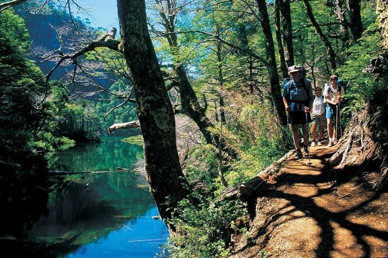 Parque Nacional Huerquehue em Pucón, Chile
