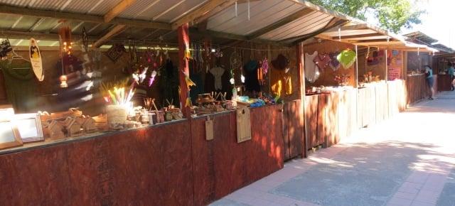 Plaza de la Artesanías em Pucón