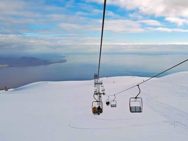 Onde esquiar no Chile