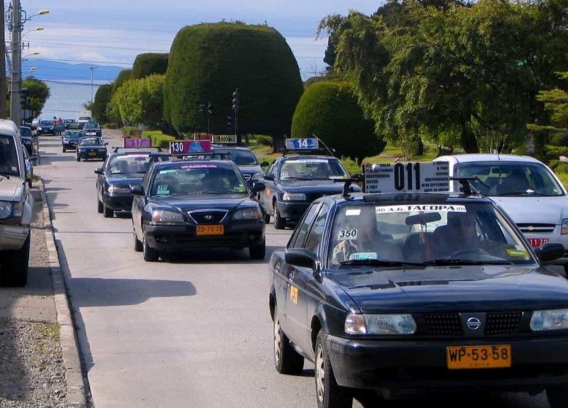 Táxi em Punta Arenas